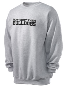 Central Elementary School Bulldogs Men's 7.8 oz Lightweight Crewneck Sweatshirt