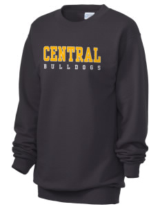 Central Elementary School Bulldogs Unisex 7.8 oz Lightweight Crewneck Sweatshirt