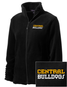 Central Elementary School Bulldogs Embroidered Women's Wintercept Fleece Full-Zip Jacket