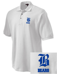 Lamotte Elementary School Bears Embroidered Tall Men's Pique Polo
