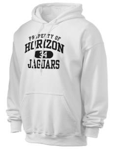 Horizon Middle School Jaguars Ultra Blend 50/50 Hooded Sweatshirt
