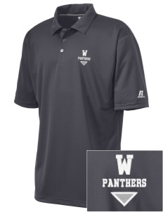 Waterloo School Panthers Embroidered Russell Coaches Core Polo Shirt
