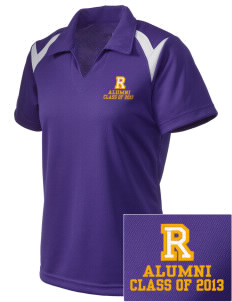 Robison Middle School Angels Embroidered Holloway Women's Laser Polo