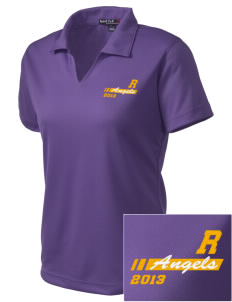 Robison Middle School Angels Embroidered Women's Dri Mesh Polo