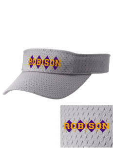 Robison Middle School Angels Embroidered Woven Cotton Visor