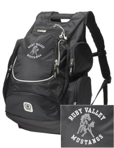 Ruby Valley Elementary School Mustangs  Embroidered OGIO Bounty Hunter Backpack