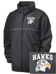 Hug High School Hawks Embroidered Men's Element Jacket