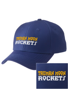 Truman Moon Elementary School Rockets  Embroidered New Era Adjustable Structured Cap