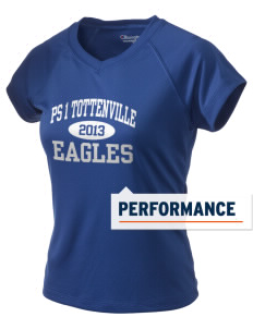PS 1 Tottenville Eagles Champion Women's Wicking T-Shirt