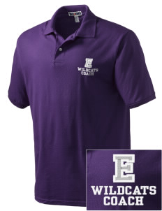 Egbert Wildcats Embroidered Men's Jersey Polo