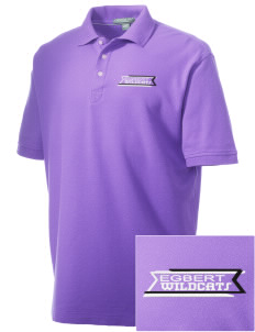 Egbert Wildcats Embroidered Men's Performance Plus Pique Polo
