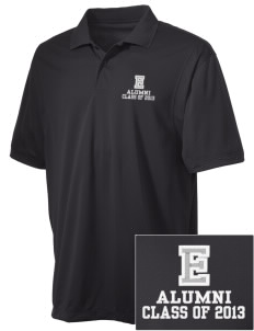 Egbert Wildcats Embroidered Men's Micro Pique Polo