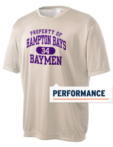 Hampton Bays Secondary School Baymen Men's Competitor Performance T-Shirt