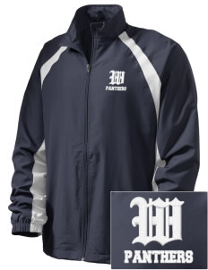 Wallkill High School Panthers  Embroidered Men's Full Zip Warm Up Jacket