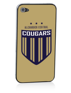 Alexander Central High School Cougars Apple iPhone 4/4S Skin