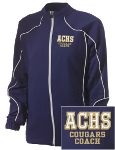 Alexander Central High School Cougars Embroidered Russell Women's Full Zip Jacket