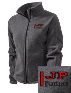 Jackson Park Elementary School Panthers Embroidered Women's Fleece Full-Zip Jacket