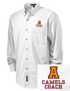 Atkins Middle School Camels Embroidered Tall Men's Twill Shirt