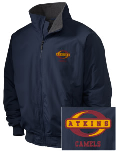 Atkins Middle School Camels Embroidered Holloway Men's Tall Jacket