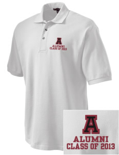 Atkins Middle School Camels Embroidered Tall Men's Pique Polo