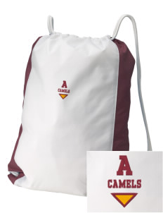 Atkins Middle School Camels Embroidered Holloway Home and Away Cinch Bag