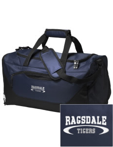Ragsdale High School Tigers Embroidered Holloway Chill Medium Duffel Bag