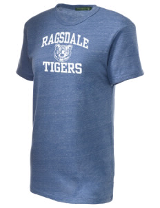 Ragsdale High School Tigers Alternative Unisex Eco Heather T-Shirt