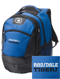 Ragsdale High School Tigers Embroidered OGIO Rogue Backpack