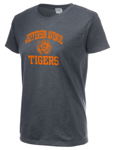 Jefferson Avenue Elementary School Tigers Women's 6.1 oz Ultra Cotton T-Shirt