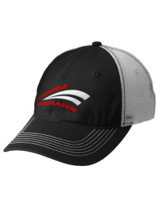 Fairfield High School Indians Embroidered Mesh Back Cap