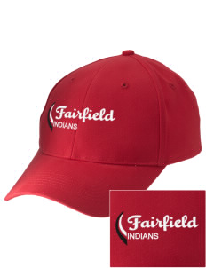 Fairfield High School Indians Embroidered Low-Profile Cap