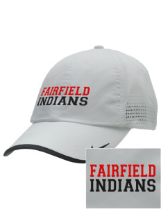 Fairfield High School Indians Embroidered Nike Dri-FIT Swoosh Perforated Cap