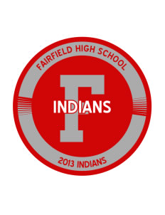 Fairfield High School Indians Sticker