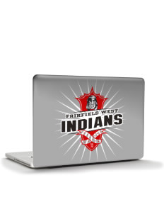 "Fairfield West Elementary School Indians Apple MacBook Pro 17"" & PowerBook 17"" Skin"