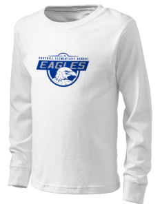 Grayhill Elementary School Eagles  Kid's Long Sleeve T-Shirt