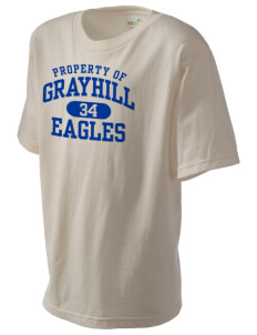 Grayhill Elementary School Eagles Kid's Organic T-Shirt