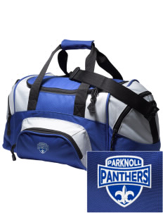 Parknoll Elementary School Panthers Embroidered Small Colorblock Duffel
