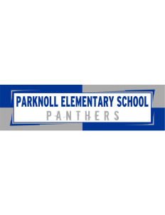 "Parknoll Elementary School Panthers Bumper Sticker 11"" x 3"""