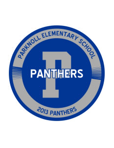 Parknoll Elementary School Panthers Sticker