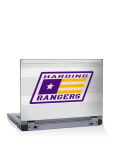 "Harding Middle School Hawks 15"" Laptop Skin"