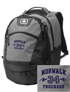 Norwalk High School Truckers Embroidered OGIO Rogue Backpack