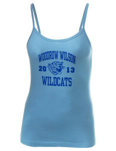 Woodrow Wilson Elementary School Wildcats Women's Louise Longer Length Tank