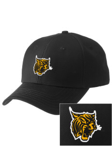 Northview High School Wildcats  Embroidered New Era Adjustable Structured Cap