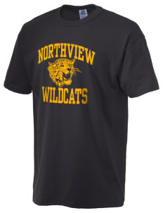 Northview High School Wildcats  Russell Men's NuBlend T-Shirt