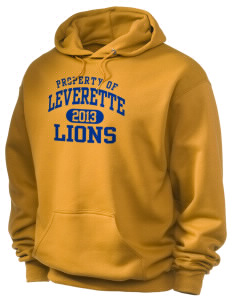 Leverette Junior High School Lions Holloway Men's 50/50 Hooded Sweatshirt