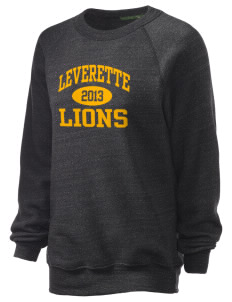 Leverette Junior High School Lions Unisex Alternative Eco-Fleece Raglan Sweatshirt