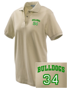 McKinley Elementary School Bulldogs Embroidered Women's Pique Polo
