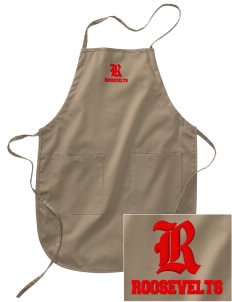 Roosevelt Junior High School Roosevelts Embroidered Full Length Apron