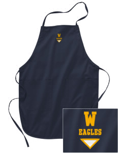 Wilson Elementary School Eagles Embroidered Full Length Apron