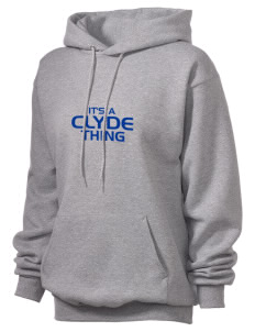 Clyde High School Fliers Unisex Hooded Sweatshirt